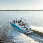 船内ランナバウトボート / デュアルコンソール / ボウライダー / ウェイクボード
