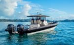 監視船業務用ボート / 船外機 / 複合艇