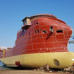 供給オフショア支援船