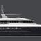 クルージングスーパーヨット / 船橋付 / 移動用船艇 / キャビン7つ