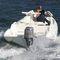 船外インフレータブルボート / 半硬式 / セントラル コンソール / 8人