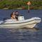 船外機インフレータブルボート / 半硬質 / セントラル コンソール / ヨット用付属品
