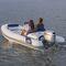 船外機インフレータブルボート / 半硬質 / サイド コンソール / 5人
