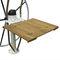 折畳みコックピットテーブル / チーク材 / 合成素材