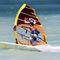 フリーライドウインドサーフィンの帆