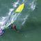 フリーレースウインドサーフィンの帆