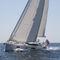 クルージング帆船 / ブリッジサロン / セントラル コックピット / キャビン4つ
