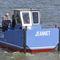 小タグボート業務用ボート / アルミ製