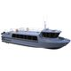 捜索救助船業務用ボート / 乗組員ボート / 潜水サポート船 / 船内機