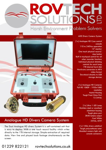 Analogue HD Divers System