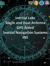 INS–B, INS-P, INS-D: Single and Dual Antenna GNSS-Aided Inertial Navigation Systems