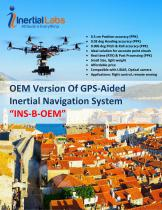 INS-B-OEM — OEM version of Single Antenna Inertial Navigation System