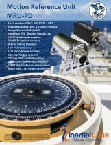 MRU-PD — Dual Antenna GNSS-Aided Motion Reference Unit