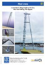 Mast crane