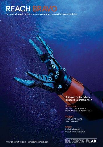 Reach Bravo Robotic Manipulator Arm Range