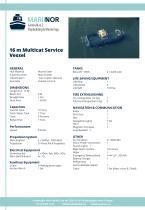 16 m Multicat Service Vessel