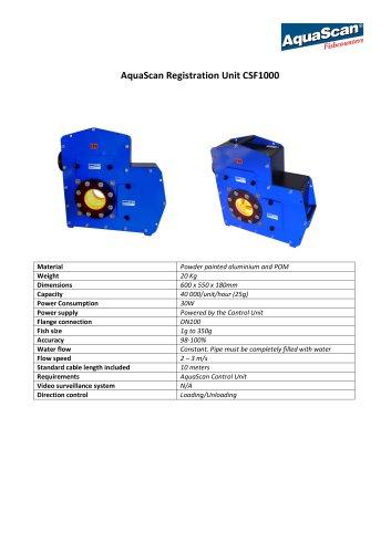 AquaScan Registration Unit CSF1000