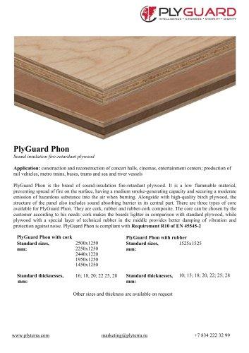 PlyGuard Phon