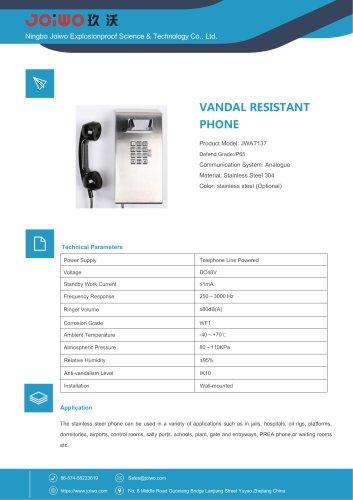 IP65 waterproof telephone