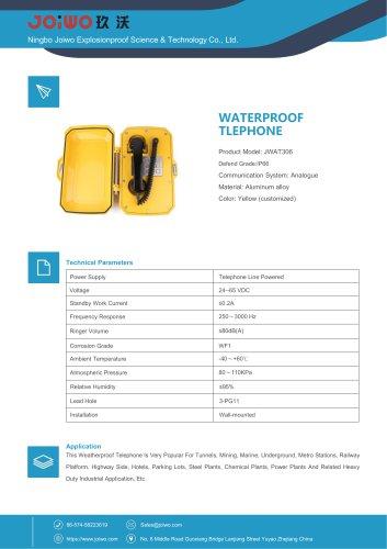 waterproof telephone