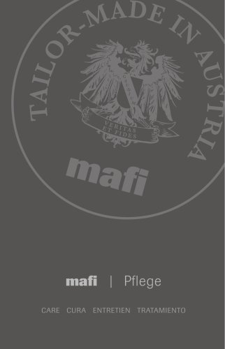 mafi care instruction