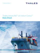 Thales VesseLINK™ on Iridium Certus℠ Data Sheet