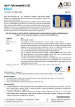 TDS FAKO-CBG 9322 Polishing milk - 1