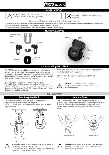 Instructions - MORFBLOCK