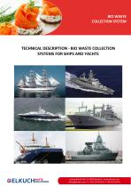 Automatic pneumatic collection system for ships