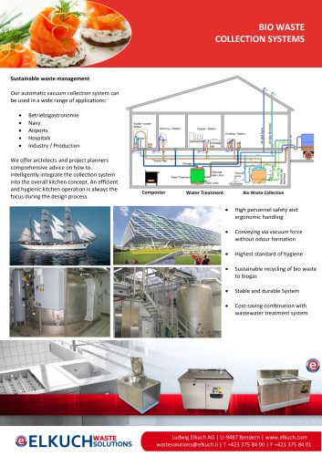 Elkuch wet waste treatment systems