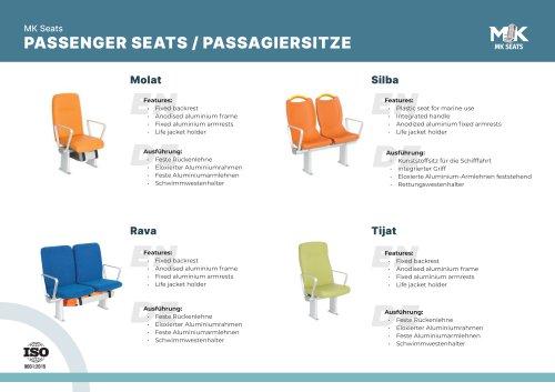 PASSENGER SEATS / PASSAGIERSITZE