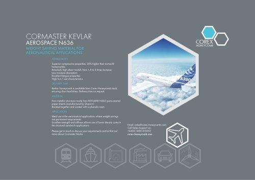 CORMASTER KEVLAR AEROSPACE N636