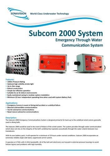 Subcom 2000 Brochure