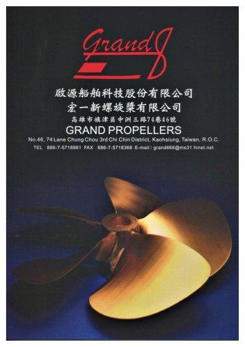 GRAND PROPELLERS catalog