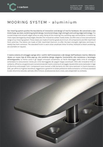 MOORING SYSTEM-aluminium
