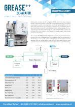 Grease Separator++ Productsheet