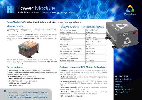 PowerModule Specifications