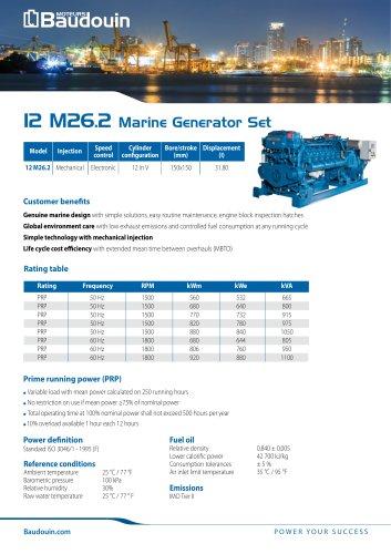 12 M26.2 Generator