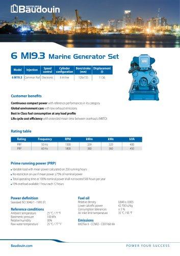 6 M19.3 Generator