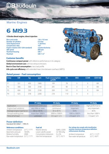6 M19.3 Propulsion engine