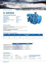 6 W105M Propulsion engine