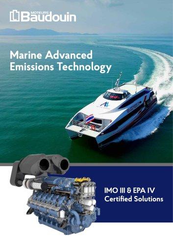 IMO III & EPA IV - Moteurs Baudouin - PDF Catalogs | Documentation