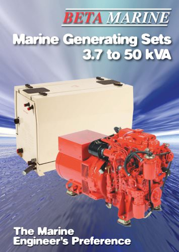 Beta Generating Sets 3.7 to 50 kVA