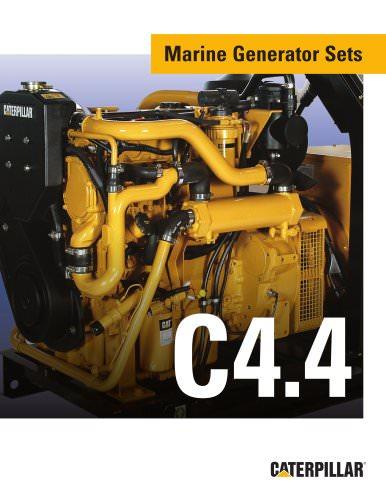 Brochure C4 4 Genset Caterpillar Marine Power Systems
