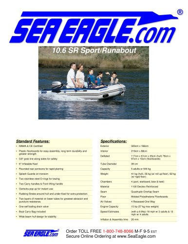 SeaEagle 10.6 SR Sport/Runabout