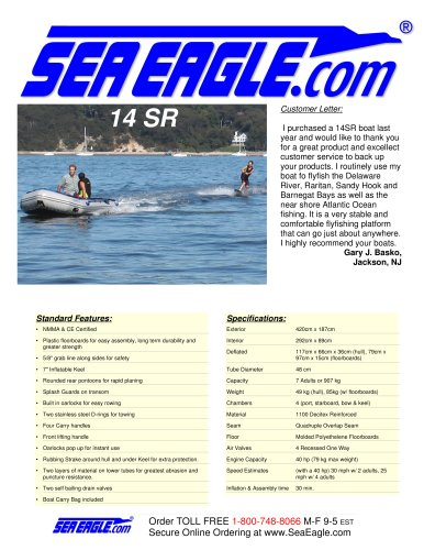 SeaEagle 14 SR