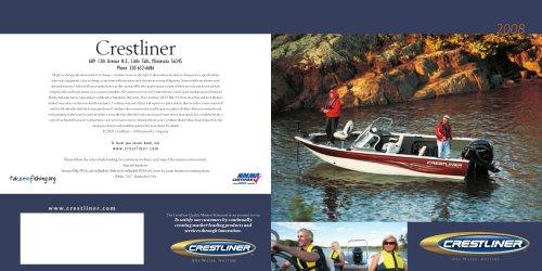 2008 Crestliner Catalogue