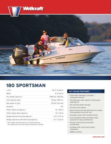 180 SPORTSMAN