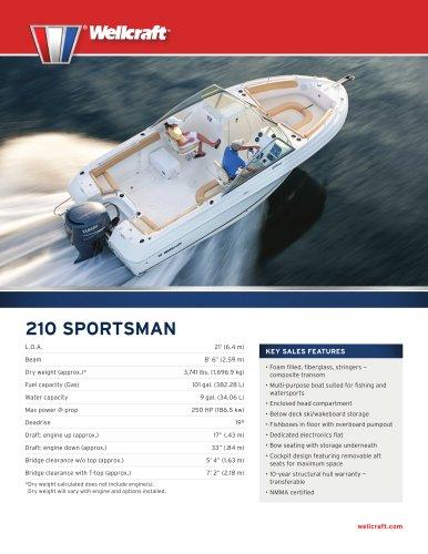 210 SPORTSMAN