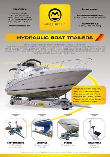 HYDRAULIC BOAT TRAILERS